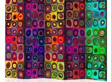 Paraván - Colorful Abstract Art II [Room Dividers]